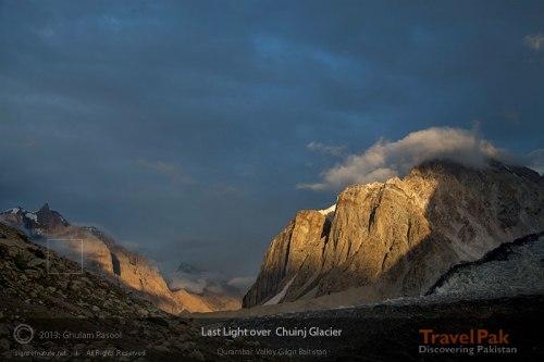 Chuinj Glacier, Gilgit Baltistan. Pakistan